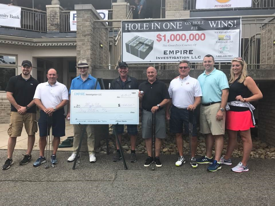 Pittsburgh Social Exchange and Empire Investigations LLC Support The Ward Home with 5th Annual Golf Outing